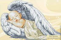 схма для вышивки бисером Ангелочек