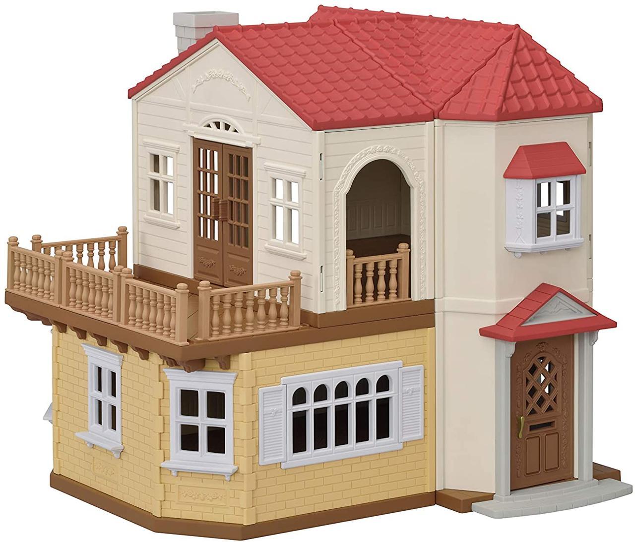 Sylvanian Families Заміський будинок з червоним дахом зі світлом 5480