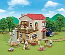Sylvanian Families Заміський будинок з червоним дахом зі світлом 5480, фото 8
