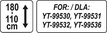 Штатив для инфракрасных обогревателей YATO YT-99570, фото 3