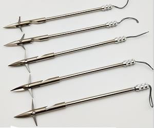 Стрелы дротики для охоты за рыбой для боуфишинга металлические (Тип 4)