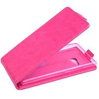Чехол флип для Nokia Lumia 730 розовый