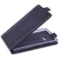 Чехол флип для Nokia Lumia 730 чёрный