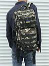 Камуфляжний тактичний рюкзак на 35 літрів, фото 2