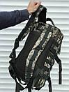 Камуфляжний тактичний рюкзак на 35 літрів, фото 5