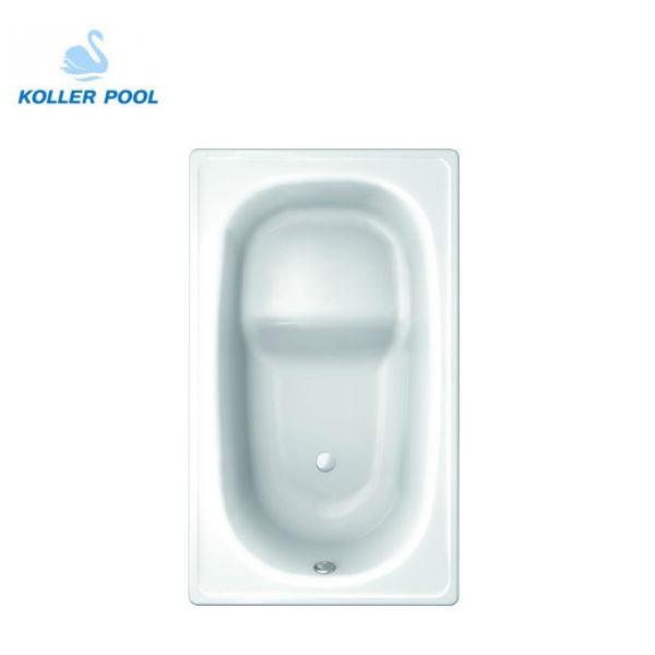 Стальная ванна Koller Pool 105х70E с сиденьем