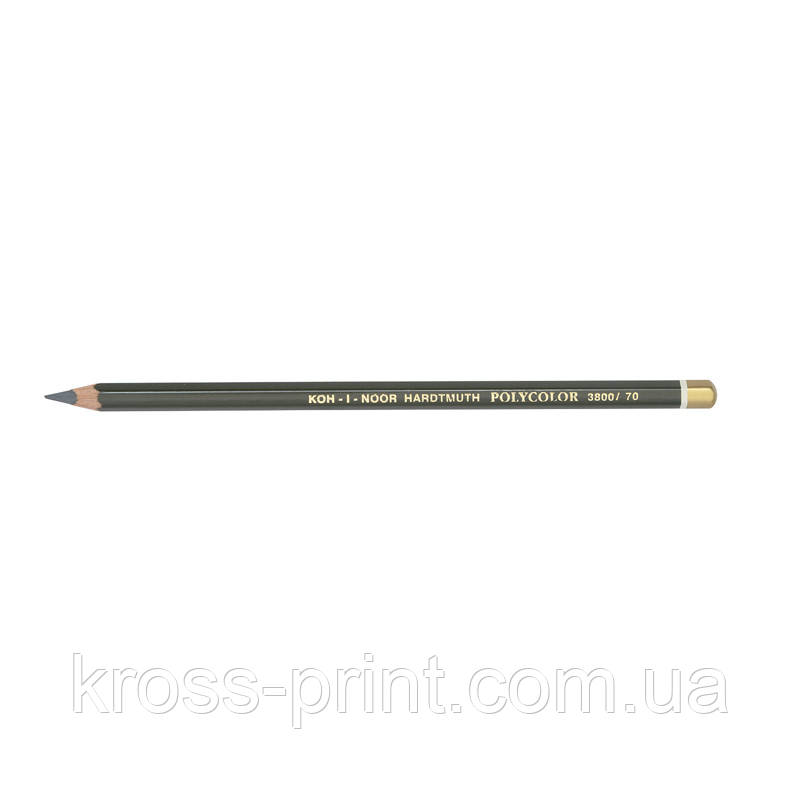 Карандаш художественный POLYCOLOR dark grey/темно-серый