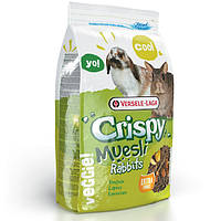 Корм для карликовых кроликов Versele Laga CRISPY Muesli Rabbits (Верселе-лага криспи) 400 гр