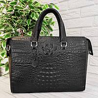 Шкіряна сумка-портфель для документів. Шкіряний портфель, фото 1