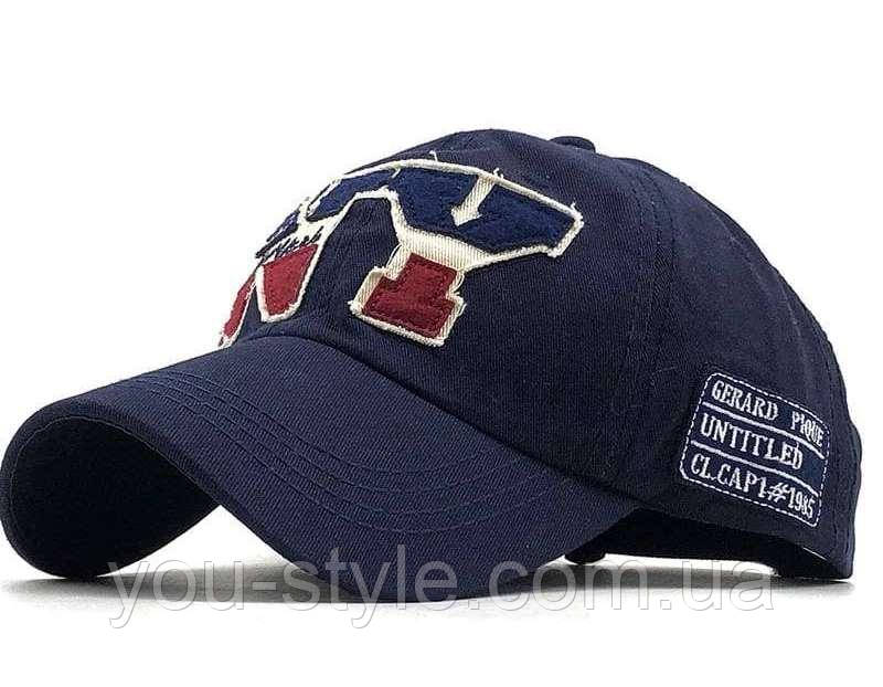Кепка, Бейсболка NEW YORK Темно-синя 178