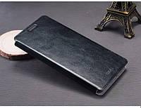 Кожаный чехол книжка MOFI для Microsoft Lumia 950 чёрный, фото 1