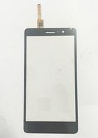 Оригинальный тачскрин / сенсор (сенсорное стекло) для Lenovo S860 (черный цвет)