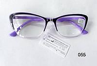 Жіночі окуляри з ліловими дужками Модель 055, фото 1