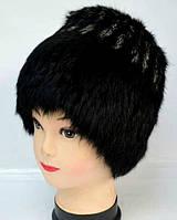 Модная женская меховая шапка