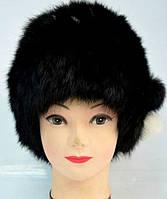 Зимова жіноча хутрова шапка