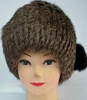 Жіноча зимова шапка хутряна