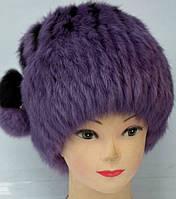 Хутряна жіноча зимова шапка