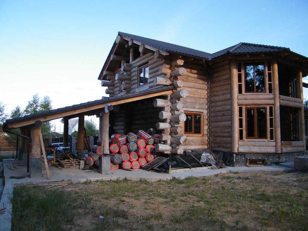 Энергоэффективное остекление деревянного дома 2