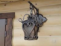 Кованый фонарь для дома