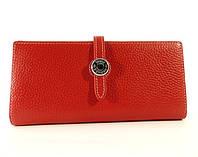 Кожаный кошелек Hermes A 514 красный, расцветки в наличии
