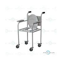 Туалет для инвалидов, стул туалет для больного, кресло с туалетом КТП медицинское Завет