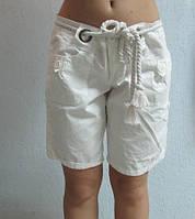 Женские шорты ZARA (0559) белые код 011 Б