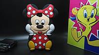 Резиновый 3D чехол для LG G Pro Lite D686 Minnie Mouse