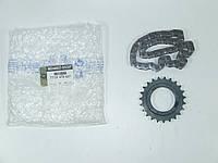 Цепь привода масляного насоса + звёздочка на Renault Trafic 2006-> 2.0dCi — Renault (Оригинал) - 7701476527