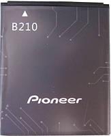 Аккумулятор для Prestigio MultiPhone 5300 Duo, Pioneer E90W оригинальный, батарея Pioneer B210