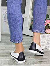 Туфлі шкіряні мокасини 7330-28, фото 3