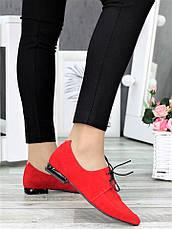 Туфлі лодочки червоні Kelly 7370-28, фото 3