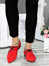 Туфлі лодочки червоні Kelly 7370-28, фото 2