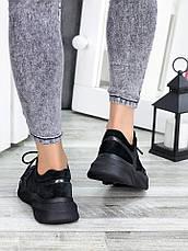 Кросівки темний нікель + замша 7427-28, фото 3