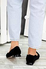 Туфлі чорна замша Volna 7488-28, фото 3