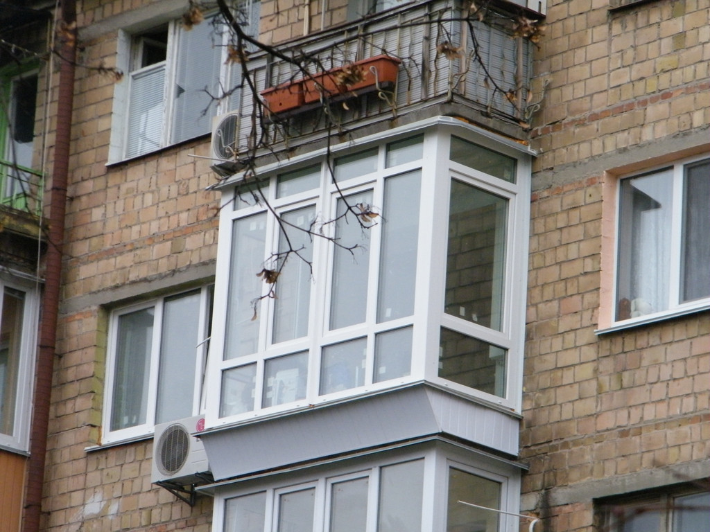 "Французский балкон в ""хрущевке"" 1"
