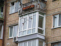 "Французский балкон в ""хрущевке"""