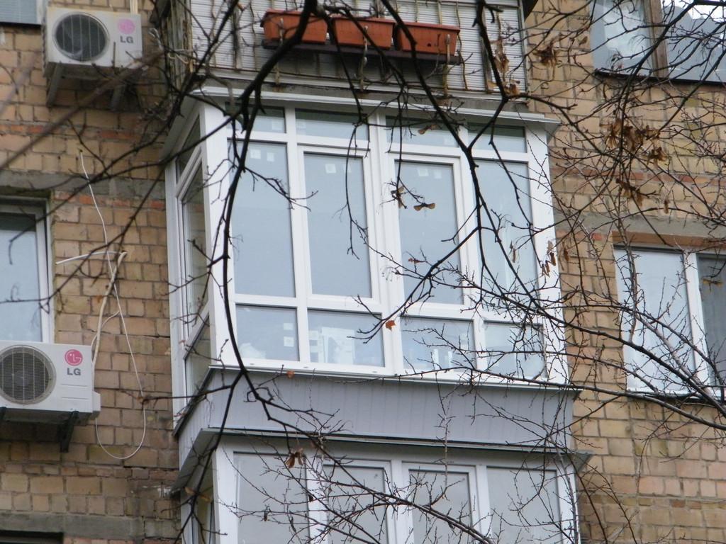 "Французский балкон в ""хрущевке"" 2"