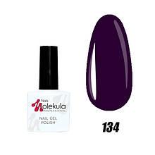 Гель-лак для ногтей Nails Molekula Uv Gel Polish 11 мл, №134 Чернильный