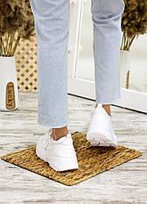 Кросівки білі лак шкіра 7710-28, фото 2