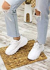 Кросівки білі лак шкіра 7710-28, фото 3