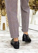 Туфлі оксфорди чорна шкіра 7715-28, фото 3