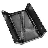 Мангал - чемодан 3 мм на 8 шампуров 450х300х140мм + Чехол + Набор шампуров, фото 6