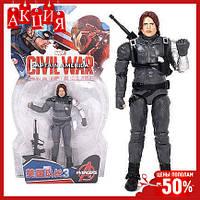 Игровая фигурка супергерой Marvel Зимний Солдат Мстители Winter Soldier Avengers игрушка для детей Top
