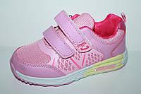 Кроссовки на девочек от производителя Tom.M 0533A (27-32)