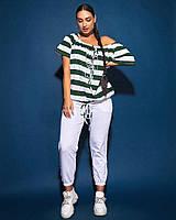 Женский трикотажный костюм для активного отдыха большого размера.Размеры:48/56+Цвета, фото 1