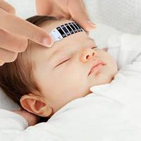 Детский термометр-лента на лоб