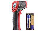 Безконтактний інфрачервоний термометр (пірометр) -50-380°C WINTACT WT320, фото 4