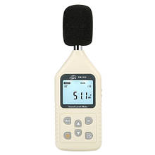 Цифровий шумомір 30-130 дБ BENETECH GM1358
