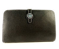 Кожаный кошелек, клатч, чехол для телефона Hermes 536 черный, расцветки в наличии