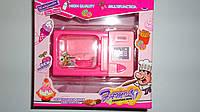 Детская игрушечная Микроволновка  на батарейках 19*16*8см,свет,звук,имитация процесов готовки.Игрушечная бытов